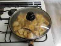 筍と鶏むね肉の照り煮13
