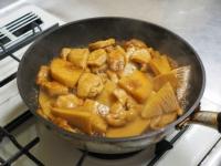 筍と鶏むね肉の照り煮21