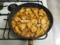 筍と鶏むね肉の照り煮14