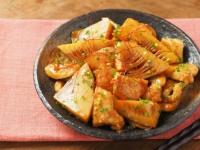 筍と鶏むね肉の照り煮38