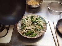 ホルモンピリ辛味噌炒め21