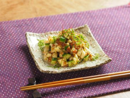 サイコロ野菜のもろみ味噌和07