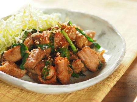 豚ホルモン味噌炒め17