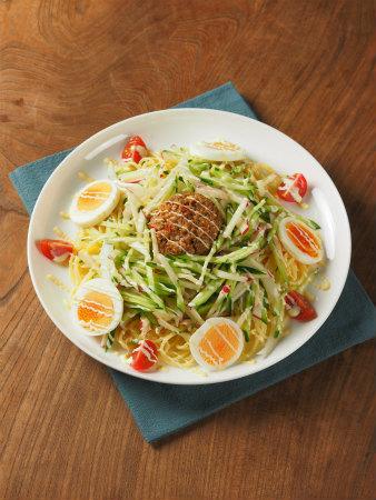 肉味噌サラダスパゲティ22