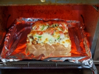納豆さば味噌ピザトースト36