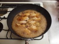 小玉ねぎと手羽元の煮物39