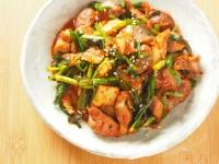 砂肝キムチ炒め15