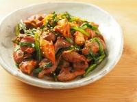 砂肝キムチ炒め06