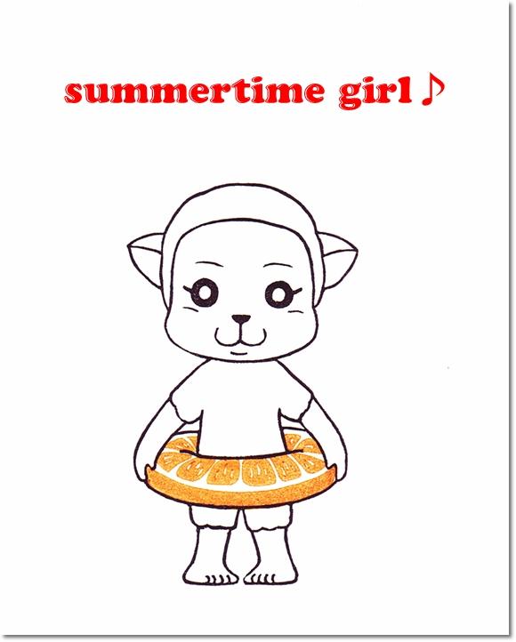 夏のお嬢さん登場☆メイ♪の巻