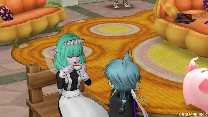 お茶メイド