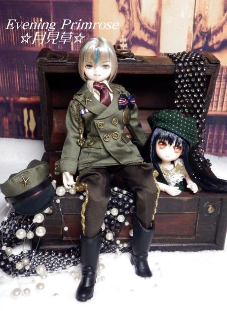 メカニカル・スイーツ軍服カーキ02