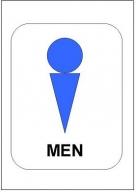 トイレマーク男性用ひな形・書式