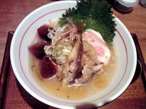 麺と心 7 冷やし魚介白湯らーめん