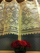 踊り場のカーテン