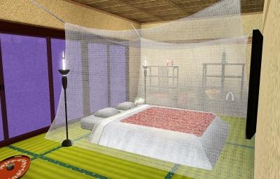 寝室その3