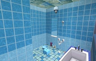 浴室(シャワー方面)