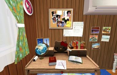 子供部屋(机周り)