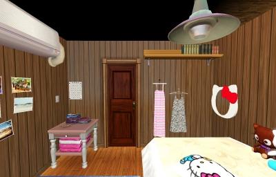 子供部屋(廊下側)