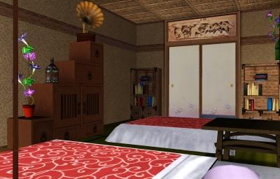 寝室その2