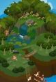 ジャングルの秘境島