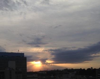 フルリールカフェ窓からの眺めブログ用