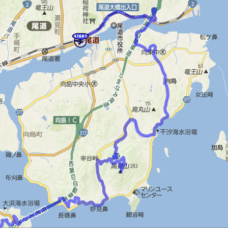 向島MAP