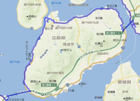 生口島MAP