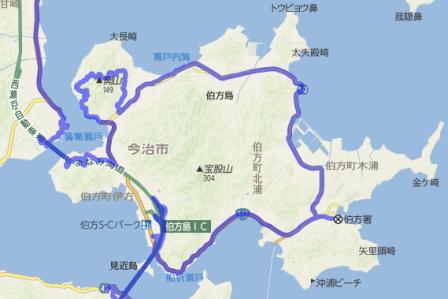 伯方島MAP