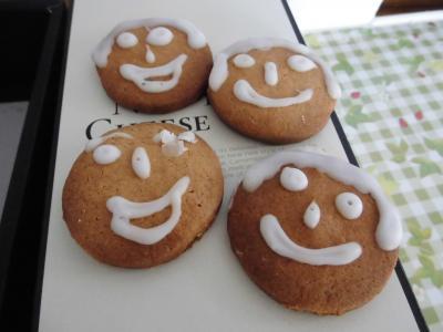 古川さんが焼いてくれたクッキー