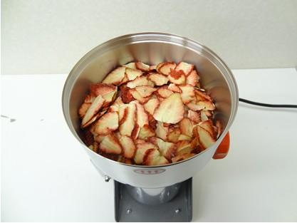 イチゴの粉末化(パウダー化)