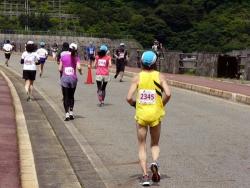 ハーフマラソンの様子2