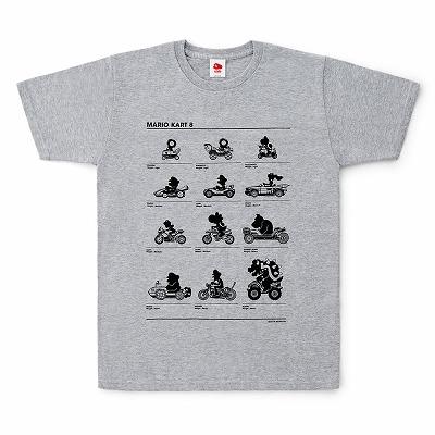クラブニンテンドーTシャツ マリオカート8