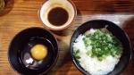 麺家おとみ 玉子かけごはん 14.4.11