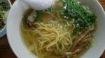 千茶屋 帆立塩ラーメン 麺 14.8.3