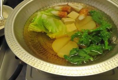 湯豆腐の鍋