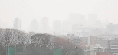 PM2.5来襲