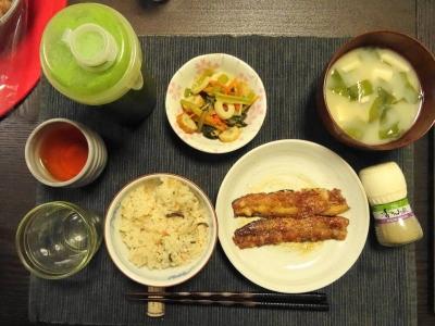 秋刀魚の蒲焼き・全景