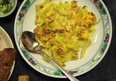 春キャベツの卵焼き