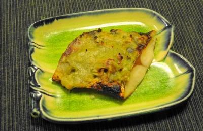 サワラの木の芽味噌