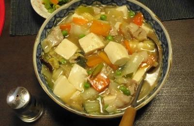 中華の肉豆腐