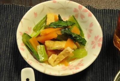 小松菜の定番小鉢