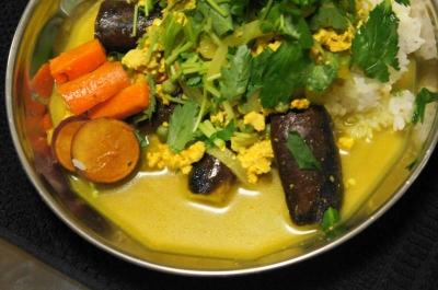夏野菜のカレーUP