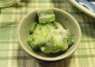 冷凍オクラ