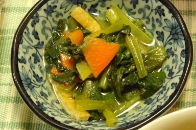 小松菜の小鉢