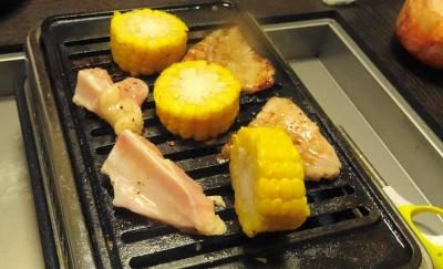 炊き肉テーブルのある生活