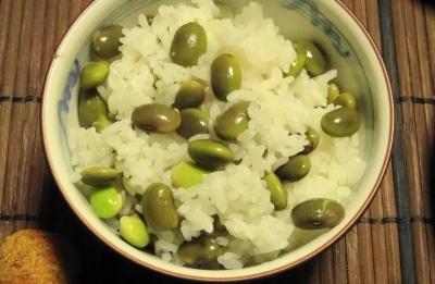 丹波の黒豆 枝豆ご飯