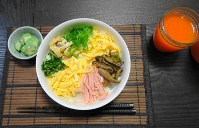 関西式冷麦