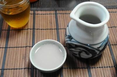 蕎麦湯&麦茶