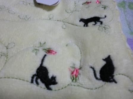 猫タオル1