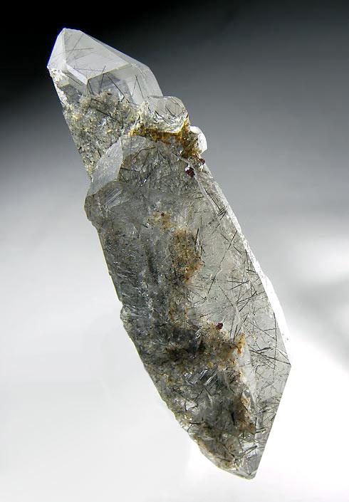 No.535 鉄電気石入り水晶